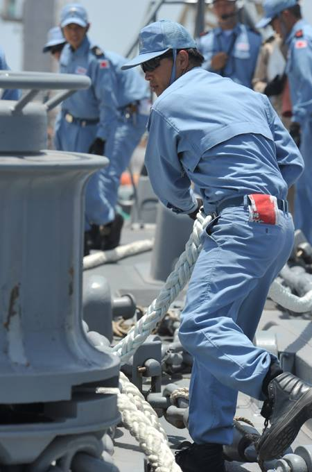 防衛省 海上自衛隊 ソマリア 海賊対処 水上部隊(24次隊) 記録9no09