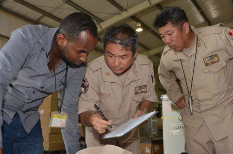 防衛省 海上自衛隊 ジプチ 派遣海賊対処行動支援隊(4次隊)no2