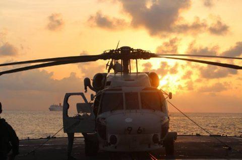 海上自衛隊 ソマリア ジプチ派遣海賊対処行動水上部隊(24次隊)10no3
