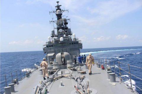 海上自衛隊 ソマリア ジプチ派遣海賊対処行動水上部隊(24次隊)10no5