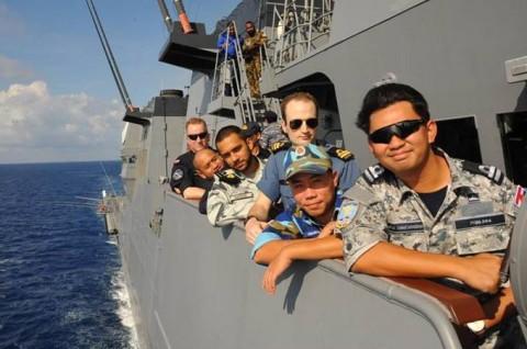 海上自衛隊 護衛艦いせ WPNS2016シップライダー・プログラム 209