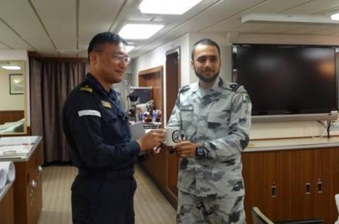 海上自衛隊 護衛艦いせ WPNS2016シップライダー・プログラム 210