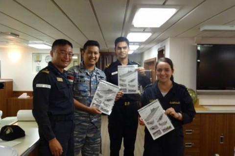海上自衛隊 護衛艦いせ WPNS2016シップライダー・プログラム 211