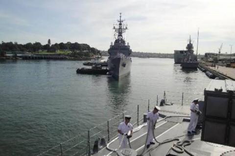 海上自衛隊 日本・オーストラリア共同訓練【日豪共同訓練】No02