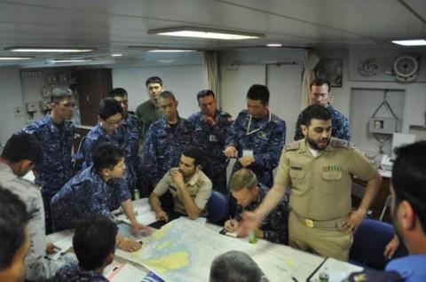 4第4回米国主催国際掃海訓練派遣部隊 防衛省海上自衛隊No03