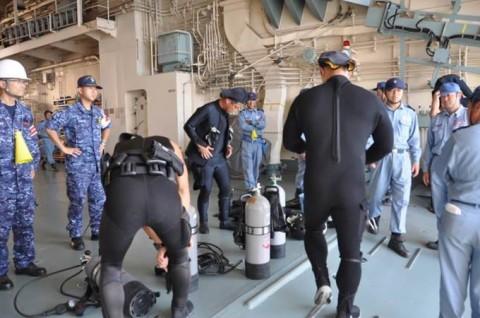 4第4回米国主催国際掃海訓練派遣部隊 防衛省海上自衛隊No07