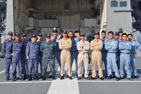 4第4回米国主催国際掃海訓練派遣部隊 防衛省海上自衛隊No10