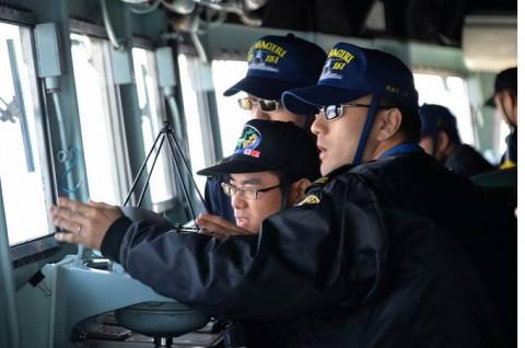 海上自衛隊 一般幹部候補生 近海練習航海(練習艦隊)の記録5no01