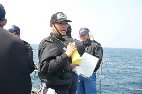 海上自衛隊 一般幹部候補生 近海練習航海(練習艦隊)の記録5no04