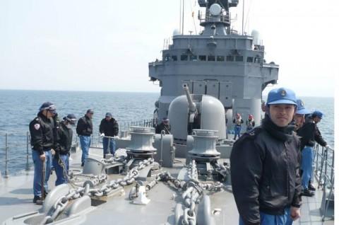 海上自衛隊 一般幹部候補生 近海練習航海(練習艦隊)の記録5no05