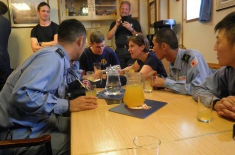 海上自衛隊 イギリス海軍との親善訓練No4