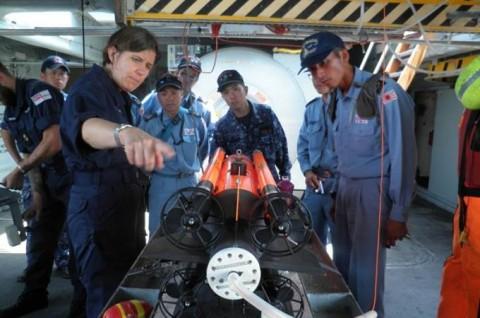 海上自衛隊 イギリス海軍との親善訓練No6