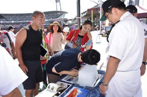 呉地方隊 広島東洋カープとのコラボイベント海上自衛隊PRデーno3