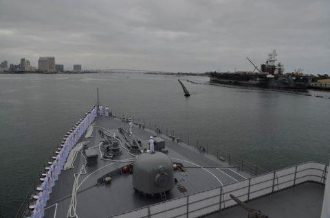 2016年度 海上自衛隊 幹部候補生 遠洋航海(練習艦隊)6  サンディエゴ編no1