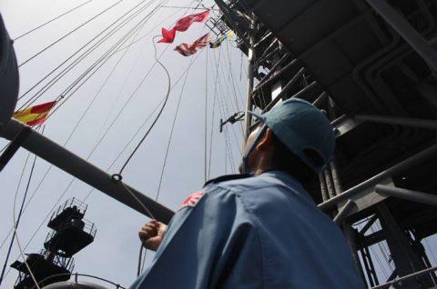 海自 24次ソマリア・ジプチ 海賊対処活動 水上部隊レポート16No6