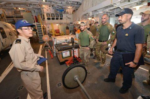防衛省 自衛隊 24次海賊対処活動 水上部隊レポート18ゆうだちNo2