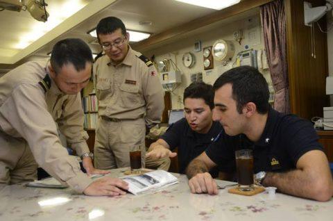 防衛省 自衛隊 24次海賊対処活動 水上部隊レポート18ゆうだちNo4