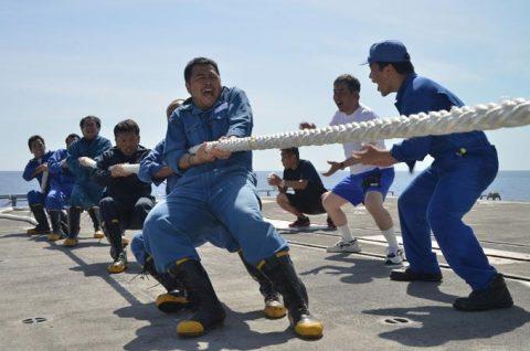 ソマリア ジプチ派遣海賊対処行動水上部隊(24次隊)ゆうだち11no04