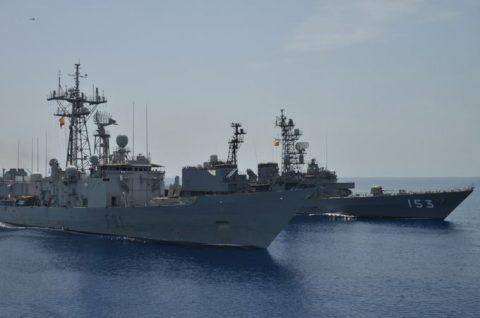 ソマリア ジプチ派遣海賊対処行動水上部隊(24次隊)ゆうだち11no07
