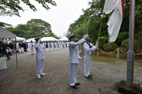 防衛省 海上自衛隊 第65回掃海殉職者追悼式03