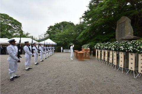 防衛省 海上自衛隊 第65回掃海殉職者追悼式06