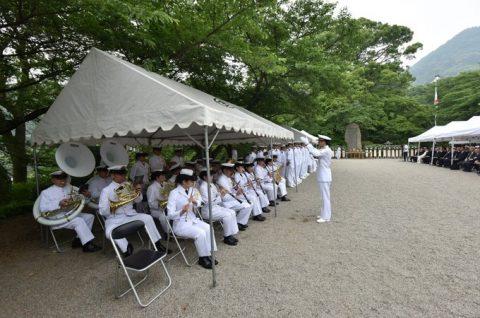 防衛省 海上自衛隊 第65回掃海殉職者追悼式11