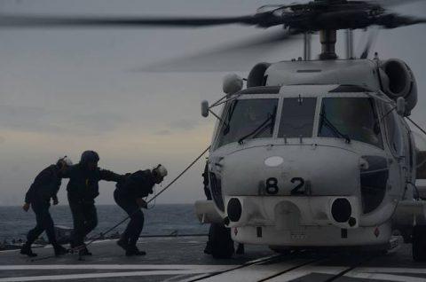海上自衛隊 一般幹部候補生 28年度 遠洋練習航海の記録no02