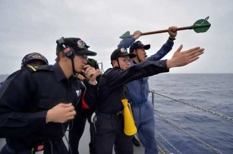 海上自衛隊 一般幹部候補生 28年度 遠洋練習航海の記録no03