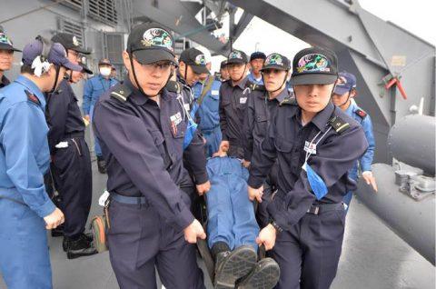 海上自衛隊 一般幹部候補生 28年度 遠洋練習航海の記録no04
