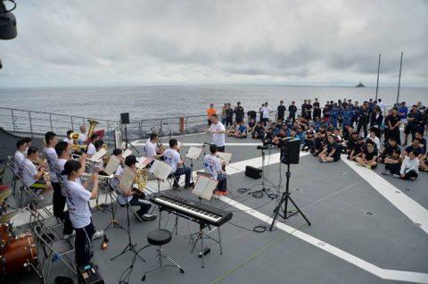 海上自衛隊 一般幹部候補生 28年度 遠洋練習航海の記録no05