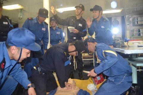 海上自衛隊 一般幹部候補生 28年度 遠洋練習航海の記録no07