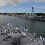 海上自衛隊幹部候補生学校 遠洋航海(練習艦隊) 28年度の記録3