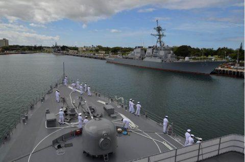 海上自衛隊幹部候補生学校 遠洋航海(練習艦隊) 28年度の記録3no1