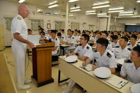 海上自衛隊幹部候補生学校 遠洋航海(練習艦隊) 28年度の記録3no3
