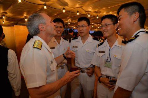 海上自衛隊幹部候補生学校 遠洋航海(練習艦隊) 28年度の記録3no4