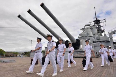海上自衛隊幹部候補生学校 遠洋航海(練習艦隊) 28年度の記録3no5