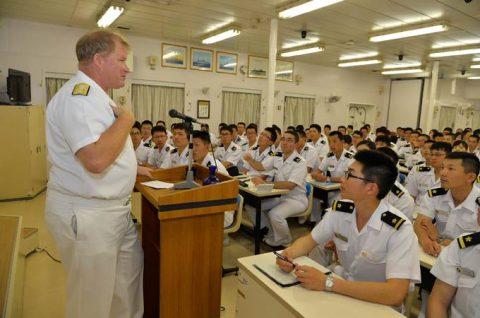 海上自衛隊幹部候補生学校 遠洋航海(練習艦隊) 28年度の記録3no9