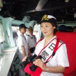 イージス艦「あたご」の体験航海 京都地方協力本部