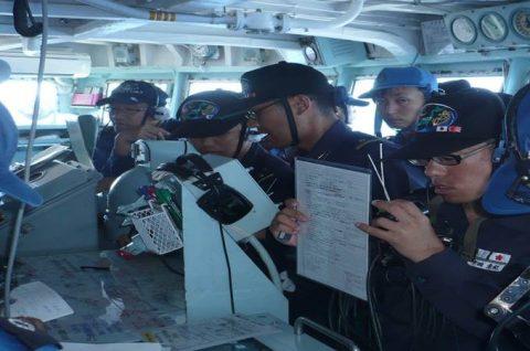 平成28年度 海上自衛隊 幹部候補生 遠洋航海4 パールハーバー出港no2