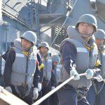 平成28年度 海上自衛隊 幹部候補生 遠洋航海4 パールハーバー出港