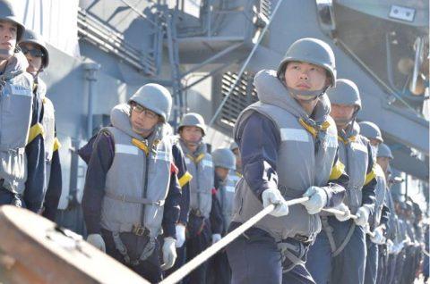 平成28年度 海上自衛隊 幹部候補生 遠洋航海4 パールハーバー出港no3