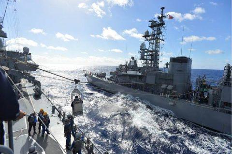 平成28年度 海上自衛隊 幹部候補生 遠洋航海4 パールハーバー出港no4