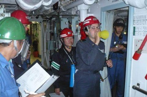 平成28年度 海上自衛隊 幹部候補生 遠洋航海4 パールハーバー出港no7