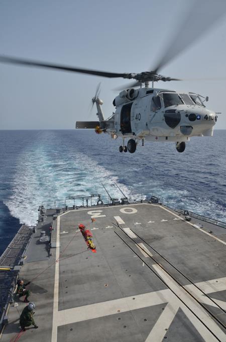 海上自衛隊 ソマリア ジプチ 海賊対処 24次水上部隊の記録14No7