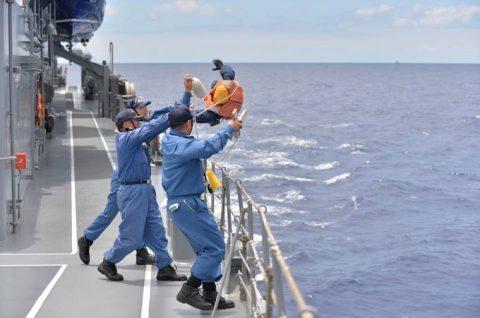 2016年度 海上自衛隊 幹部候補生 遠洋航海5 サンディエゴへ航海中No3