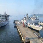 防衛省海上自衛隊 マラバール2016 日本・アメリカ・インド日米印共同訓練