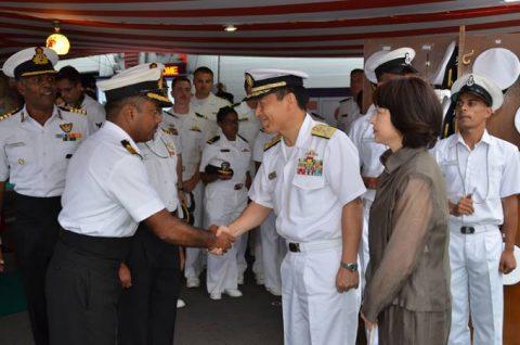 防衛省海上自衛隊 マラバール2016 日本・アメリカ・インド日米印共同訓練No03
