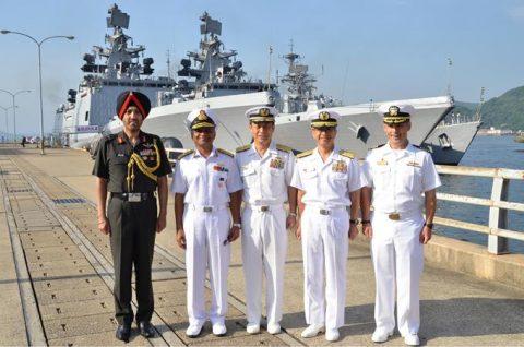 防衛省海上自衛隊 マラバール2016 日本・アメリカ・インド日米印共同訓練No10