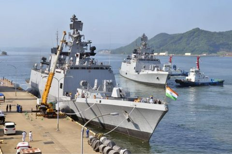 防衛省海上自衛隊 マラバール2016 日本・アメリカ・インド日米印共同訓練No11