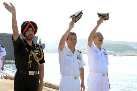 防衛省海上自衛隊 マラバール2016 日本・アメリカ・インド日米印共同訓練No13